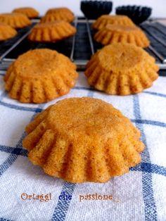 Muffin di zucca cruda  Ortaggi che passione by Sara
