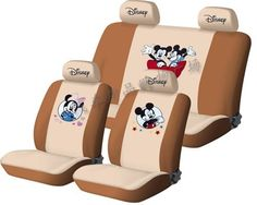 cover set seats beige 10PCS Disney Mickey & Minnie Mouse figure UNIVERSAL…