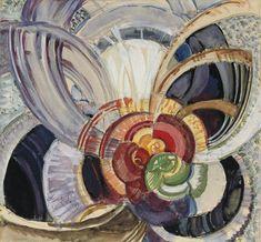 Autour d'un point, 1920's, Frantisek Kupka. Czech (1871 - 1957)