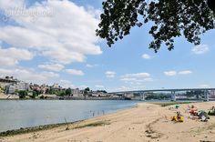 A River Beach In Porto (Praia do Areínho)