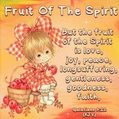 Galatians 5:22. Fruit of the spirit