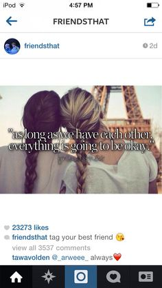 Cute bff quote~