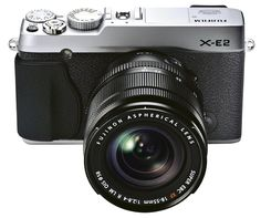 Fujifilm X-E2 16.3 MP Mirrorless Digital Camera with 3.0-Inch LCD and 18-55mm Lens (Silver) from Amazon. Saved to Epic Wishlist.
