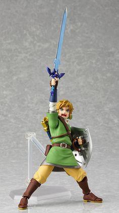 The Star Wars Pose: The Legend of Zelda, Skyward Sword Figurine