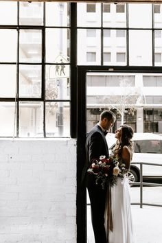 Loving these cuties' urban + bohemian wedding style   Image by Makenzie Reese Photography