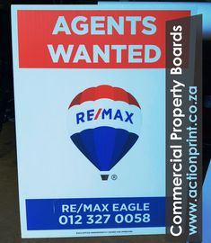 Full colour commercial agents wanted estate agent boards Event Signage, Outdoor Signage, Corrugated Plastic Signs, Photo Direct, Plastic Board, Real Estate Signs, Clip Frame, Name Stickers, Plastic Sheets