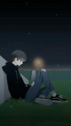 Anime Couples Drawings, Anime Couples Manga, Chica Anime Manga, Cute Anime Couples, Sad Anime, Kawaii Anime, Dark Art Illustrations, Dark Anime Guys, Gothic Anime