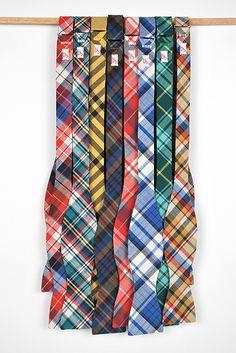 plaid bowties