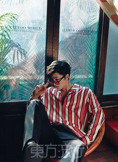 Hong Jong Hyun - Eastern Trends Magazine April Issue '16 Moon Lovers Cast, Boys In Groove, A Frozen Flower, Hong Jong Hyun, Ao Haru, Korean Wave, Korean Style, Trends Magazine, Instyle Magazine