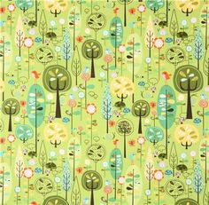 Image result for fabric with mushrooms print