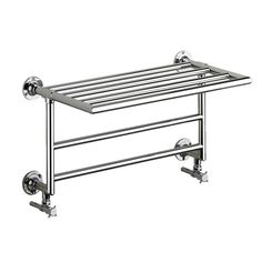 Discover the stunning Heritage Quirinius Wall Mounted Heated Towel Rail. A stylish, functional upgrade. Now online at Victorian Plumbing.co.uk.