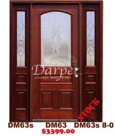 DM55 6 Panel Contemporary Exterior Wood Mahogany Door 8-0   Darpet Interior Doors for Chicago Builders ://darpet.com/products-catalog/exterior-\u2026 & DM55 6 Panel Contemporary Exterior Wood Mahogany Door 8-0   Darpet ... Pezcame.Com