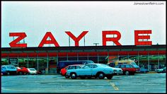 Zayre Department Store - Golden gateway/Cameron Hill - Chattanooga, Tennessee- late '70's.