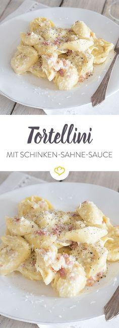 Diese Schinken-Sahne-Sauce ist in Windeseile zubereitet und erinnert an den italienischen Klassiker Carbonara - nur etwas cremiger.