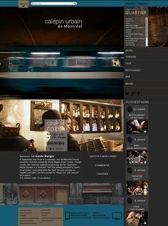 Site Web on Behance