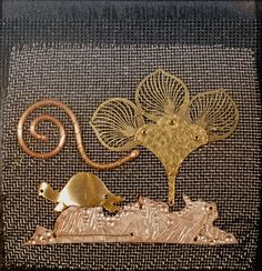 Bits and pieces - metal collage