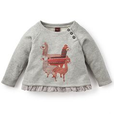 Tea Collection has classic long sleeve onesies to keep her covered, plus tops with darling prints and graphics. Shop all our baby girl tops at Tea Collection. Baby Girl Clothes Sale, Baby Girl Shirts, Baby Girl Tops, Girls Tees, Shirts For Girls, Baby Girl Leggings, Comfy Pants, Kids Wear, Long Sleeve Tops