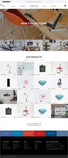 Space is premium #Opencart theme for multipurpose #furniture #shop eCommerce website with 9+ amazing homepage layouts download now➩ https://themeforest.net/item/space-minimalist-clean-opencart-theme/17315577?ref=Datasata