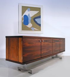 Robin Day rosewood 'Delphi' sideboard, 1960s. www.midcenturyhome.co.uk