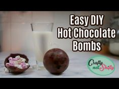 Hot Chocolate bombs are so hot right now so I put on my thinking cap and came up with a great way to DIY them for yourself or as gifts. Hot Chocolate Coffee, Hot Chocolate Gifts, Christmas Hot Chocolate, Chocolate Diy, Chocolate Bomb, Chocolate Marshmallows, Hot Chocolate Bars, Hot Chocolate Recipes, Christmas Food Gifts
