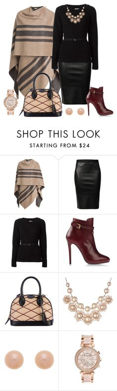 Work-a-day World by barbaratweten on Polyvore featuring мода, Moncler, Burberry, Helmut Lang, Atelier Mercadal, Louis Vuitton, Michael Kors, Vivienne Westwood, Finesse and 2015