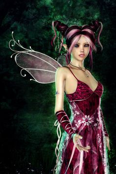 Magical Collection of Fairy Digital Paintings Elfen Fantasy, 3d Fantasy, Fantasy Artwork, Fairy Dust, Fairy Land, Fairy Tales, Magical Creatures, Fantasy Creatures, Woodland Creatures