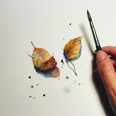 "5,100 Likes, 8 Comments - Watercolor illustrations  (@watercolor.illustrations) on Instagram: "" Watercolorist: @awaisha_art #waterblog #акварель #aquarelle #drawing #art #artist #artwork…"""