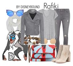 """Rafiki"" by leslieakay ❤ liked on Polyvore featuring Dorothy Perkins, Marni, Givenchy, Simon Sebbag, IRO, Gianvito Rossi, Fendi, disney, disneybound and disneycharacter"