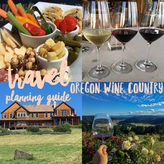 The Complete Travel Guide to Oregon Wine Country! via BTP