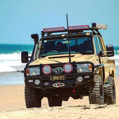 Beach, bush or desert - what's your favourite to explore? Toyota Lc, Toyota Trucks, Toyota Hilux, Toyota Tundra, Toyota Corolla, Land Cruiser Pick Up, Land Cruiser 70 Series, Toyota Cruiser, Fj Cruiser