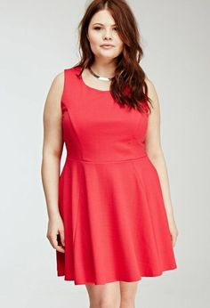 8195e3e0f6 Ropa de moda primavera verano para gorditas 2015 Vestidos Rojos