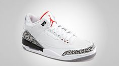 1875add80d3e67 Air Jordan III Retro 88  White Cement  - Available Today (Feb 6th