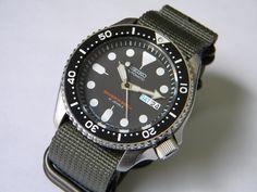 seiko vintage diver watch Skx007j