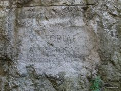 In the winter of Marcus Valerius Maximianus and soldiers of the Roman Legio II Adiutrix camped in the Vah valley. They left this inscription on a rock of … Continue reading → Central Europe, Bratislava, Archaeology, Mount Rushmore, Roman, Places To Go, Manor Houses, Antiquities, Soldiers