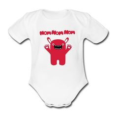 Body Bébé Om nom nom nom - Drôle & Cute Monster #cloth #cute #kids# #funny #hipster #nerd #geek #awesome #gift #shop We will review it and take appropriate action. Thanks for helping to maintain extreme awesomeness on Wanelo.