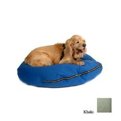 Snoozer Knife Edge Dog Pillow, X-Large, Khaki *** Special dog product just for you. See it now! : Pet dog bedding