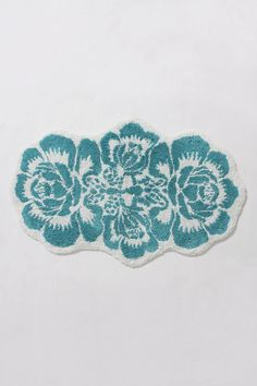 damask bathmat