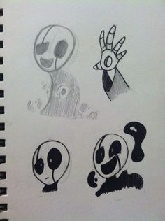 W. D. Gaster sketches [by Coffee]