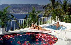 las brisas  acapulco.  Private pools for every casita.  It's fantastic!