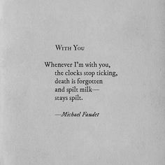 Michael Faudet   WITH YOU