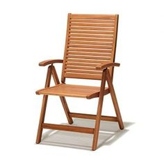 Chichester FSC Eucalyptus Wood Outdoor Multi Position Chair