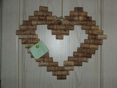 blackboard heart corks