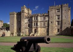 Chillingham Castle, Northumberland, England. Home of Sir Humphrey Wakefield Bt. Since 1246 the castle has been owned by one continuous blood line with the Earls Grey ruling the castle for the founding centuries.