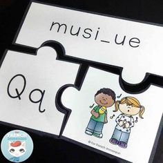 French Puzzles - les lettres de l'alphabet Read In French, Learn French, Puzzles, French Alphabet, French Grammar, French Resources, French Immersion, Small Letters, Letter Recognition