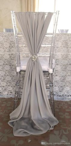Custom Made!romantic Wedding Party Anniversary Chair Sash Party Banquet Decorations Wedding Crystal Flower Chair Cover From Weddingshow's Store | Dhgate.Com
