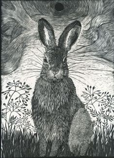 Hare in the Grass by Kay Leverton