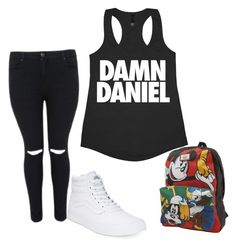 """""""Back at it again"""" by amaiawitthachicken on Polyvore featuring Vans"""