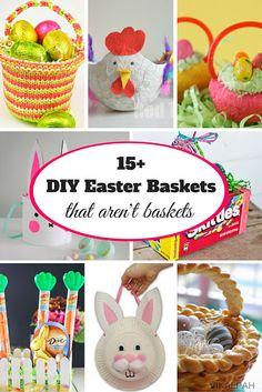 Vikalpah: 15+ DIY Easter Baskets that aren't baskets