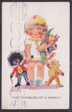 AGNES RICHARDSON postcard, 1931 | eBay