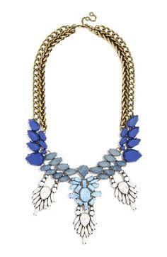BaubleBar 'Matte Cascade' Bib Necklace available at #Nordstrom
